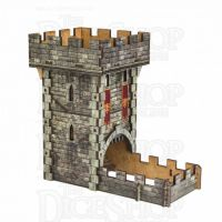 Q Workshop Colour Medieval Wooden Dice Tower