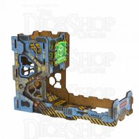 Q Workshop Colour Tech Wooden Dice Tower