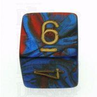 Chessex Gemini Blue & Red D6 Dice