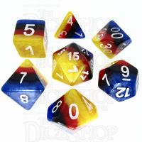 TDSO Layer Burning Sand 7 Dice Polyset