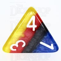 TDSO Layer Burning Sand D4 Dice
