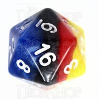 TDSO Layer Burning Sand D20 Dice