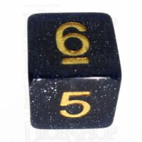 TDSO Galaxy Glitter Universe D6 Dice