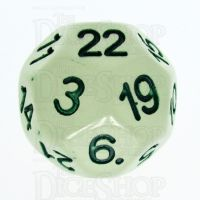 Impact Glow in the Dark & Green D22 Dice