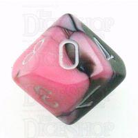 Chessex Gemini Black & Pink D10 Dice