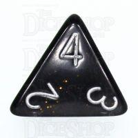 TDSO Glitter Dark Blue D4 Dice