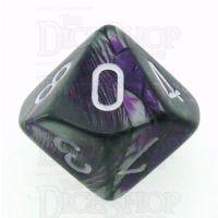 Chessex Gemini Purple & Steel D10 Dice