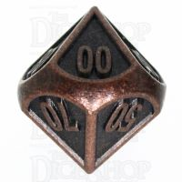 TDSO Metal Fire Forge Ancient Copper Percentile Dice