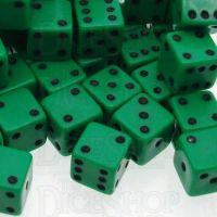 D&G Opaque Green MINI 7mm 20 x D6 Dice Set