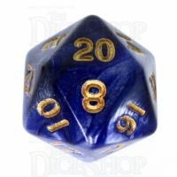 TDSO Duel Purple & Pearl White D20 Dice