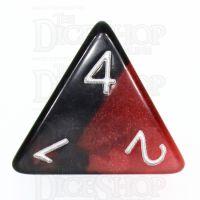 TDSO Duel Hot Rocks Glow in the Dark D4 Dice