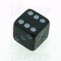 D&G Opaque Black MINI 7mm D6 Dice