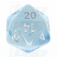 TDSO Duel Icy Rocks Glow in the Dark D20 Dice