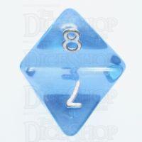 TDSO Layer Transparent Blue Sky D8 Dice