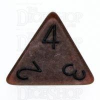 TDSO Opaque Antique Copper D4 Dice