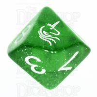 TDSO Light Unicorn D10 Dice
