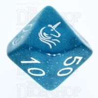 TDSO Light Unicorn Percentile Dice