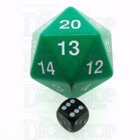 Koplow Opaque Green MASSIVE Countdown 55mm D20 Dice