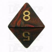 Chessex Scarab Blue Blood D8 Dice