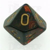 Chessex Scarab Blue Blood D10 Dice