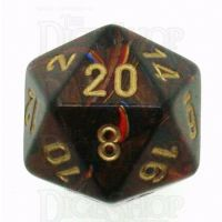 Chessex Scarab Blue Blood D20 Dice