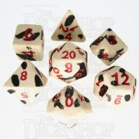 Crit Hit Assassin's Ghost Ceramic 7 Dice Polyset