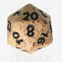 Crit Hit Sandstorm Ceramic D20 Dice