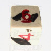 Crit Hit Assassin's Ghost Ceramic D6 Dice