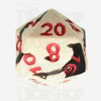 Crit Hit Assassin's Ghost Ceramic D20 Dice