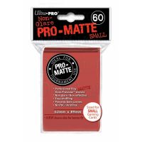 Ultra Pro Matte SMALL Sized Sleeves x 60 - Red