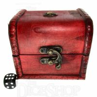 LARGE Wooden Dice Chest
