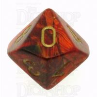 Chessex Scarab Scarlet D10 Dice
