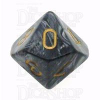 Chessex Lustrous Black D10 Dice