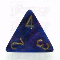Chessex Lustrous Purple D4 Dice