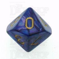 Chessex Lustrous Purple D10 Dice