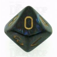 Chessex Lustrous Shadow D10 Dice