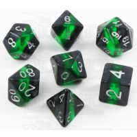 TDSO Mineral Emerald 7 Dice Polyset
