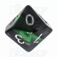 TDSO Mineral Emerald D10 Dice