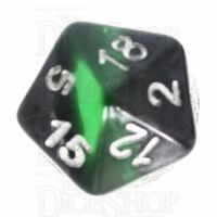 TDSO Mineral Emerald D20 Dice