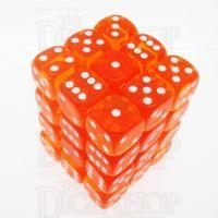 D&G Gem Orange 36 x D6 Dice Set