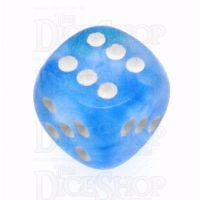 Chessex Borealis Sky Blue 16mm D6 Spot Dice