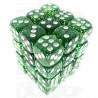 TDSO Glitter Green 36 x D6 Dice Set