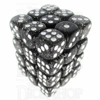 TDSO Glitter Black 36 x D6 Dice Set