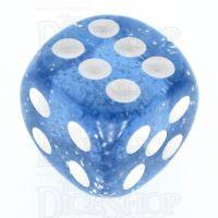 TDSO Glitter Blue 16mm D6 Spot Dice