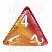 TDSO Layer Passion Fruit D4 Dice