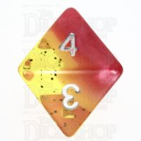 TDSO Layer Passion Fruit D8 Dice