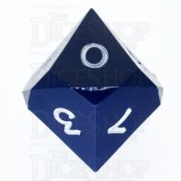 GameScience Opaque Navy & White Ink D10 Dice
