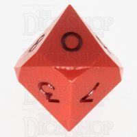 GameScience Opaque Orange & Black Ink D10 Dice