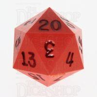 GameScience Opaque Orange & Black Ink D20 Dice