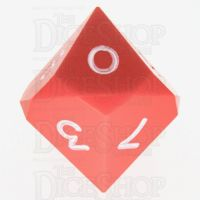 GameScience Opaque Orange & White Ink D10 Dice